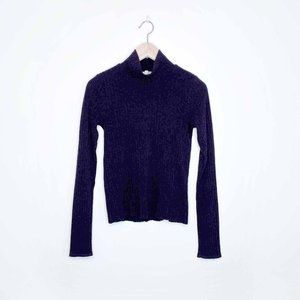 Wilfred Free Mariel mock neck ribbed sweater